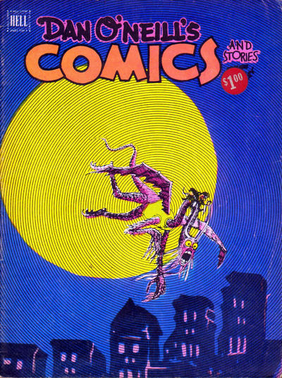 Cover for Dan O'Neill's Comics and Stories (Comics and Comix, 1975 series) #2