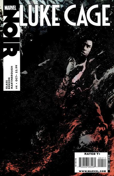Cover for Luke Cage Noir (Marvel, 2009 series) #4