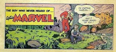 Cover for The Boy Who Never Heard of Captain Marvel (Fawcett, 1950 series) #[nn]