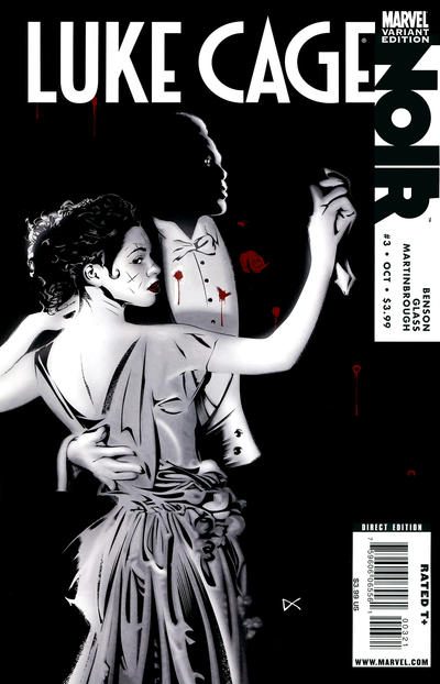 Cover for Luke Cage Noir (Marvel, 2009 series) #3