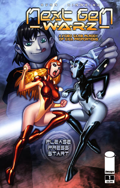 Cover for Next Gen Warz (Image, 2010 series) #1