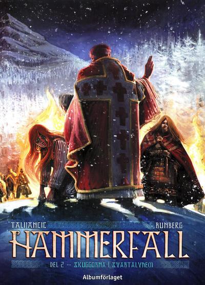 Cover for Hammerfall (Albumförlaget Jonas Anderson, 2010 series) #2 - Skuggorna i Svartalvhem