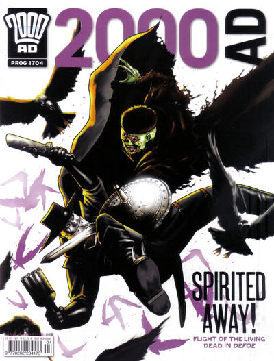 Cover for 2000 AD (Rebellion, 2001 series) #1704