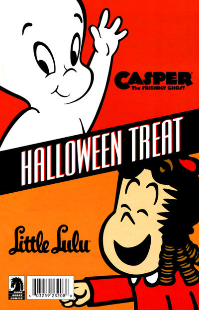 Cover for Casper the Friendly Ghost and Little Lulu Halloween Special 2009 (Dark Horse, 2009 series)