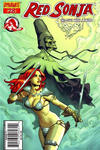Cover Thumbnail for Red Sonja (2005 series) #28 [Homs Cover]