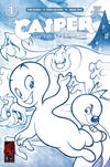 Cover Thumbnail for Casper and the Spectrals (2009 series) #1 [Sketch Cover 1:15 ]