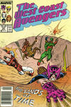 Cover for West Coast Avengers (Marvel, 1985 series) #20 [Newsstand Edition]