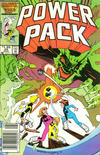 Cover Thumbnail for Power Pack (1984 series) #25 [Newsstand]
