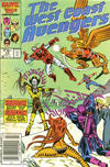 Cover for West Coast Avengers (Marvel, 1985 series) #10 [Newsstand Edition]