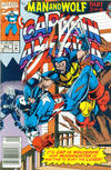 Cover Thumbnail for Captain America (1968 series) #404 [Newsstand Edition]