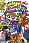 Cover for Captain America (Marvel, 1968 series) #412 [Newsstand Edition]