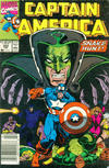 Cover Thumbnail for Captain America (1968 series) #382 [Newsstand Edition]