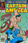 Cover for Captain America (Marvel, 1968 series) #365 [Newsstand Edition]