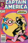 Cover for Captain America (Marvel, 1968 series) #363 [Newsstand Edition]