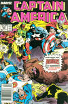 Cover Thumbnail for Captain America (1968 series) #352 [Newsstand]