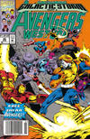Cover Thumbnail for Avengers West Coast (1989 series) #80 [Newsstand Edition]