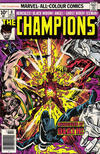 Cover for The Champions (Marvel, 1975 series) #8 [British Price Variant]