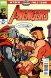 Cover for Avengers (Marvel, 2010 series) #5 [Super Hero Squad Variant]