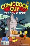 Cover for Bongo Comics Presents Comic Book Guy: The Comic Book (Bongo, 2010 series) #4