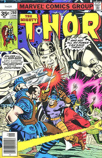 Cover Thumbnail for Thor (Marvel, 1966 series) #260 [35¢]