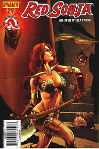 Cover Thumbnail for Red Sonja (Dynamite Entertainment, 2005 series) #29 [Mel Rubi Cover]