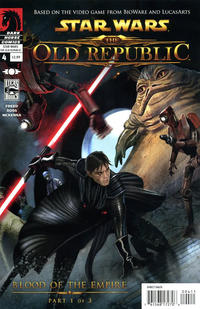 Cover Thumbnail for Star Wars: The Old Republic (Dark Horse, 2010 series) #4