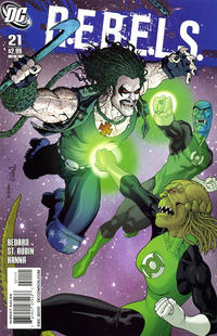 Cover Thumbnail for R.E.B.E.L.S. (DC, 2009 series) #21