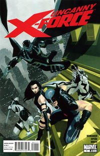 Cover Thumbnail for Uncanny X-Force (Marvel, 2010 series) #1 [Ribic Regular Cover]