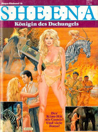 Cover Thumbnail for Ehapa Filmband (Egmont Ehapa, 1979 series) #10 - Sheena - Königin des Dschungels