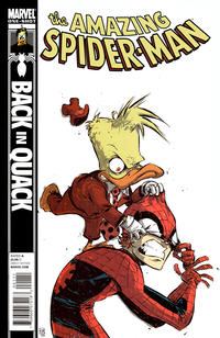 Cover Thumbnail for Spider-Man: Back in Quack (Marvel, 2010 series) #1