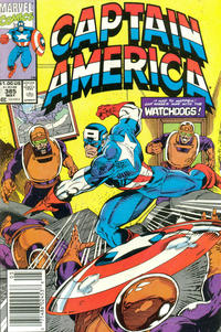 Cover Thumbnail for Captain America (Marvel, 1968 series) #385 [Newsstand]