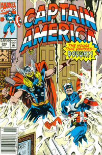 Cover for Captain America (Marvel, 1968 series) #395 [Newsstand Edition]