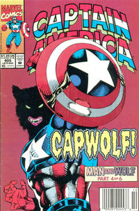 Cover Thumbnail for Captain America (Marvel, 1968 series) #405 [Newsstand]