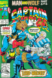 Cover Thumbnail for Captain America (Marvel, 1968 series) #407 [Direct Edition]