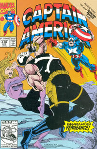 Cover for Captain America (Marvel, 1968 series) #410 [Direct Edition]