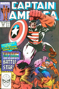 Cover Thumbnail for Captain America (Marvel, 1968 series) #349 [Direct Edition]