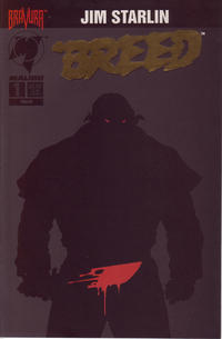 Cover Thumbnail for 'Breed (Malibu, 1994 series) #1 [Gold Foil Logo]