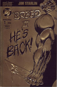 Cover Thumbnail for 'Breed II (Malibu, 1994 series) #1 [Gold Edition]