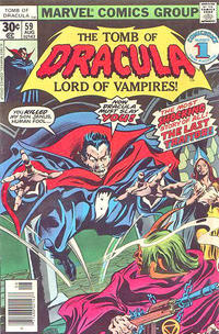 Cover Thumbnail for Tomb of Dracula (Marvel, 1972 series) #59 [30¢]