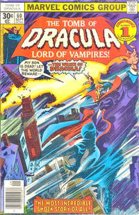 Cover Thumbnail for Tomb of Dracula (Marvel, 1972 series) #60 [30¢]