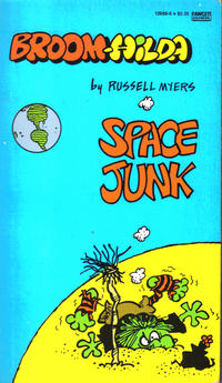 """Cover Thumbnail for Broom Hilda """"Space Junk"""" (Gold Medal Books, 1986 series)"""