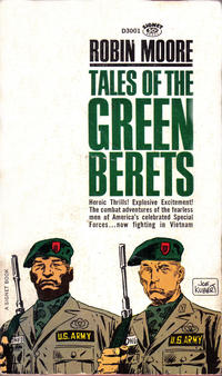 Cover Thumbnail for Tales of the Green Berets (New American Library, 1966 series)