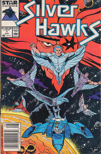 Cover Thumbnail for Silverhawks (Marvel, 1987 series) #1 [Newsstand]