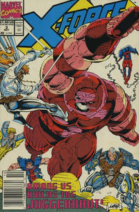 Cover Thumbnail for X-Force (Marvel, 1991 series) #3 [Newsstand Edition]
