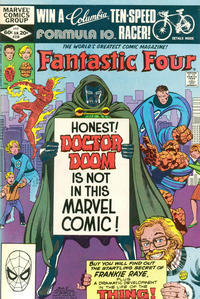 Cover Thumbnail for Fantastic Four (Marvel, 1961 series) #238 [Direct Edition]