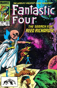 Cover Thumbnail for Fantastic Four (Marvel, 1961 series) #261 [Direct Edition]