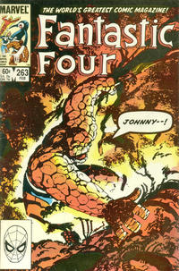 Cover Thumbnail for Fantastic Four (Marvel, 1961 series) #263 [Direct]