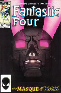 Cover Thumbnail for Fantastic Four (Marvel, 1961 series) #268 [Direct]