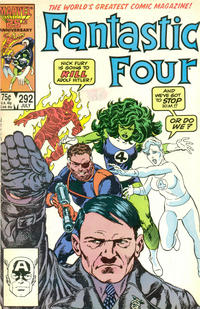 Cover Thumbnail for Fantastic Four (Marvel, 1961 series) #292 [Direct Edition]