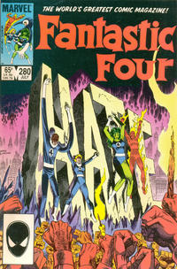 Cover Thumbnail for Fantastic Four (Marvel, 1961 series) #280 [Direct]